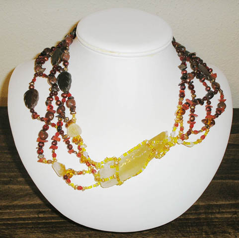 Necklace by Artist Jennifer Weigel