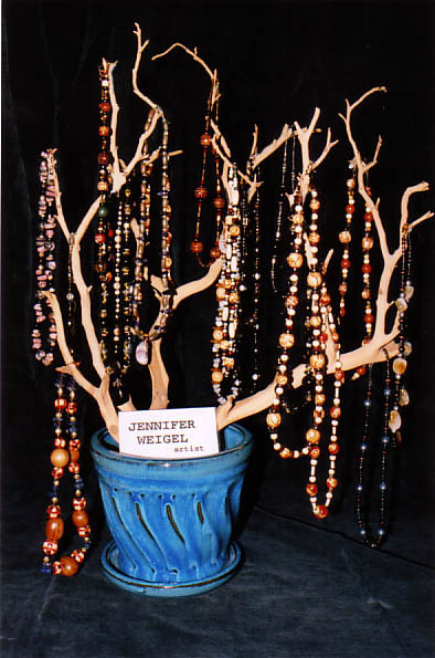 Necklaces by Artist Jennifer Weigel